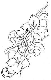 collection of 25 lilies butterflies blink swirl design