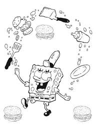 kids spongebob coloring pages kids