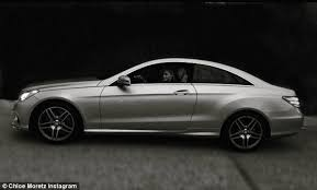 mercedes shares grace moretz celebrates car as she shares photo in a