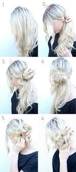 updos for long hair i can do my self 10 super easy updo hairstyles tutorials side bun updo bun updo