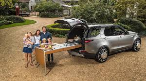 2017 land rover discovery custom jamie oliver gets cooking in his land rover discovery kitchen