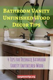 the 25 best unfinished bathroom vanities ideas on pinterest