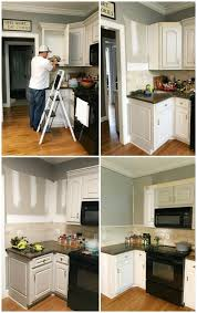kitchen makeover with cabinets kitchen cabinet facelift at home with the barkers