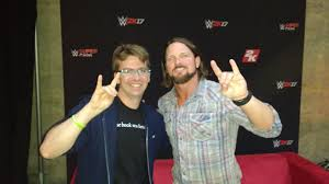 interview aj styles talks wwe 2k17 video games and his game
