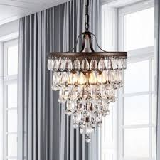 Crystal Chandelier Band Farmhouse Or Country Chandelier You U0027ll Love