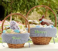 Pottery Barn Baskets With Liners 26 Fun Easter Baskets For Girls And Boys Of All Ages Candace Rose