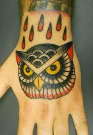 clock tattoo on hand 55 traditional owl tattoos ideas