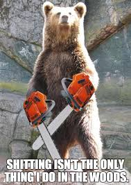 Chainsaw Meme - chainsaw grizzly imgflip
