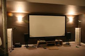 Small Home Theater Room Ideas by Home Theater With Projector And Screen Small Home Decoration Ideas