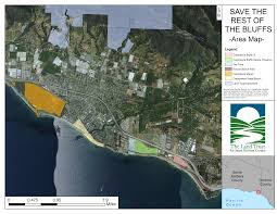 Santa Barbara Map Save The Rest Of The Bluffs The Land Trust For Santa Barbara County