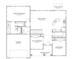 simple open floor house plans bedroom 3 bedroom open floor plans