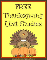 free thanksgiving unit studies for all unit studies