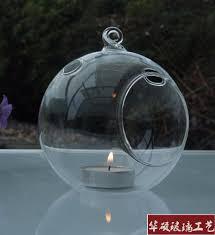 18pcs lot o roselif brand hanging tealight holder glass globe