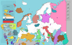 Interactive Europe Map by Europe Map Puzzle Free For Roundtripticket Me