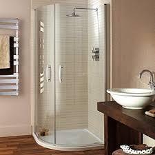 Lakes Shower Door Quadrant Shower Enclosure Hinged Doors Tray 900mm Lakes
