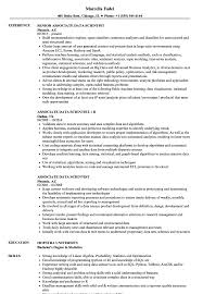 data scientist resume associate data scientist resume sles velvet