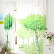 Green Bedroom Curtains Online Shop Green Window Curtains For Living Room Bedroom Luxury