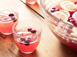 a cranberry and scotch cocktail for a crowd