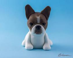 bulldog cake topper bulldog cake topper dog cake topper fondant bulldog