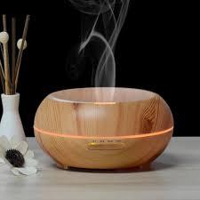 innogear 200ml aromatherapy essential oil diffuser wood grain