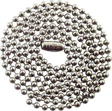 steel ball necklace images 30 quot inch stainless steel ball chain necklace 2 4mm jpg