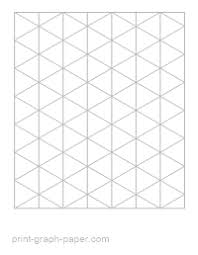 printable isometric paper a4 free printable graph paper