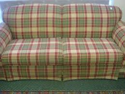 country sofas and loveseats country plaid sofa and loveseat 184 broyhill plaid upholstered