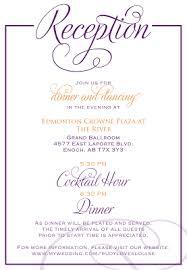 Order Of Wedding Program Wedding Reception Order Of Events Program Signatures By S