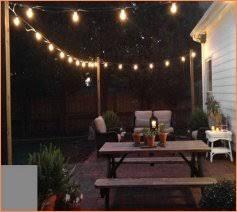 edison bulb patio lights allen roth 12 ft clear edison bulb patio string lights lowes