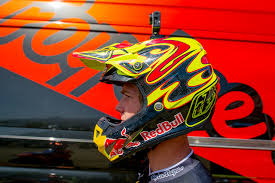 motocross red bull helmet motocross action magazine troy lee designs se4 helmet introduction