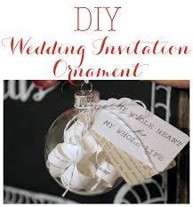 diy wedding invitation ornament linen lace