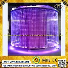 custom stainless steel digital water curtain rain curtain digital