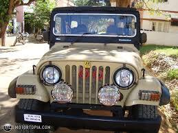 mahindra jeep 1995 mahindra mm540 4x4 id 23769