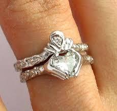 claddagh wedding ring set claddagh engagement and wedding ring sets claddagh wedding