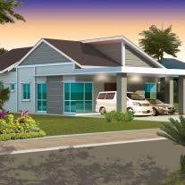single storey bungalow floor plan home architecture house design pictures malaysia floor plan single