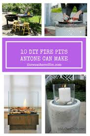 fire pit diy ideas anyone can make the weathered fox