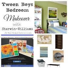 tween bedroom makeover plans u0026 giveaway at the picket fence