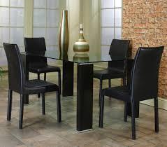 furniture modern square glass dining table craftsman large model