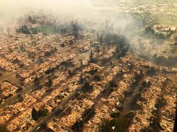 santa rosa fire how a sudden firestorm obliterated full city blocks