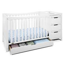 4 In 1 Convertible Cribs Graco Remi 4 In 1 Convertible Crib And Changer Jcpenney