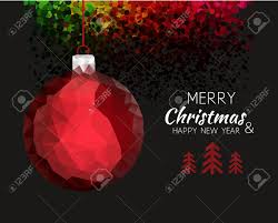 merry happy new year ornament shape in