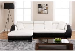 canapé d angle commandeur canapé angle gauche blanc structure commandeur