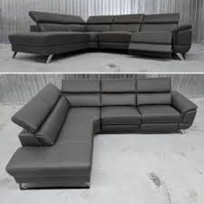 leather electric recliner chaise corner sofa massive corner recliner lounge sofas gumtree australia yarra