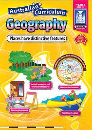 australian curriculum geography year 1 places have distinctive