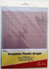 Plastic Template Sheets Sew Easy Quilter S Template Plastic 1 4 Grid Graph 2 Sheets A4