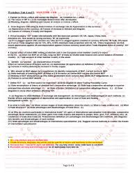 cambridge cie as a level edexcell economics worksheet unit 4 u0026 5