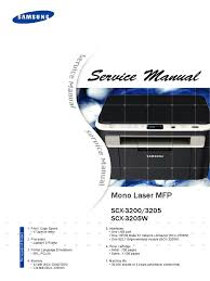 service manual scx 3200 series electrostatic discharge ac