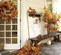 Decorating With Fall Leaves - 29 best outdoor fall decor non scary halloween decorations images