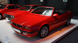 maserati red convertible maserati biturbo wikipedia