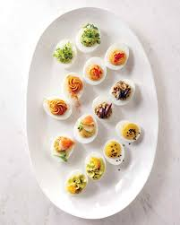 deviled egg dish deviled eggs our definitive recipes martha stewart